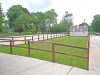 horse menages and stable yards